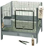 "Rabbit Hutch, 24"" x 24"" x 16"""