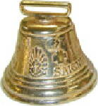 "Swiss Bell--2-3/4"" Diameter"