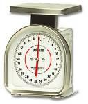 50 lb. Capacity Dial Platform Scale