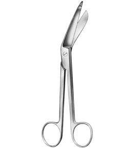 """Lister Bandage Scissor, 5-1/2"""""""