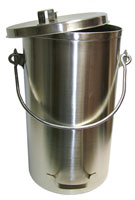 Stainless Steel Milk Tote with Cover