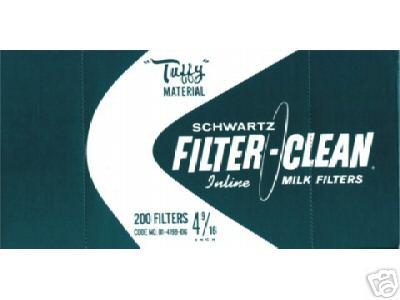"Tuffy 4-9/16"" Filter Disks- Boxes of 200"