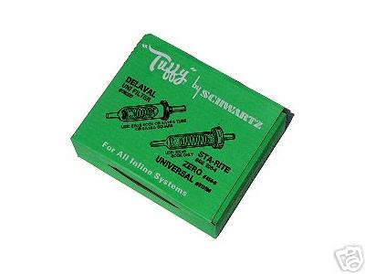 "Tuffy Filter Socks-2-1/4""x 12"", Box of 100"