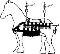 Draft Horse Sling