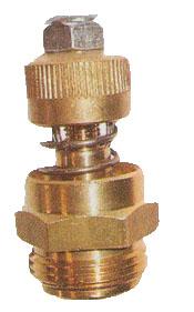 "3/4"" NPT Brass Spring Vacuum Relief Valve"