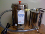 Kleen-Flo 2 Gal. Stainless Milk Pasteurizer