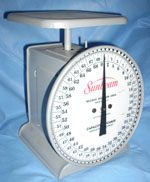 Sunbeam 70 lb Platform Scale